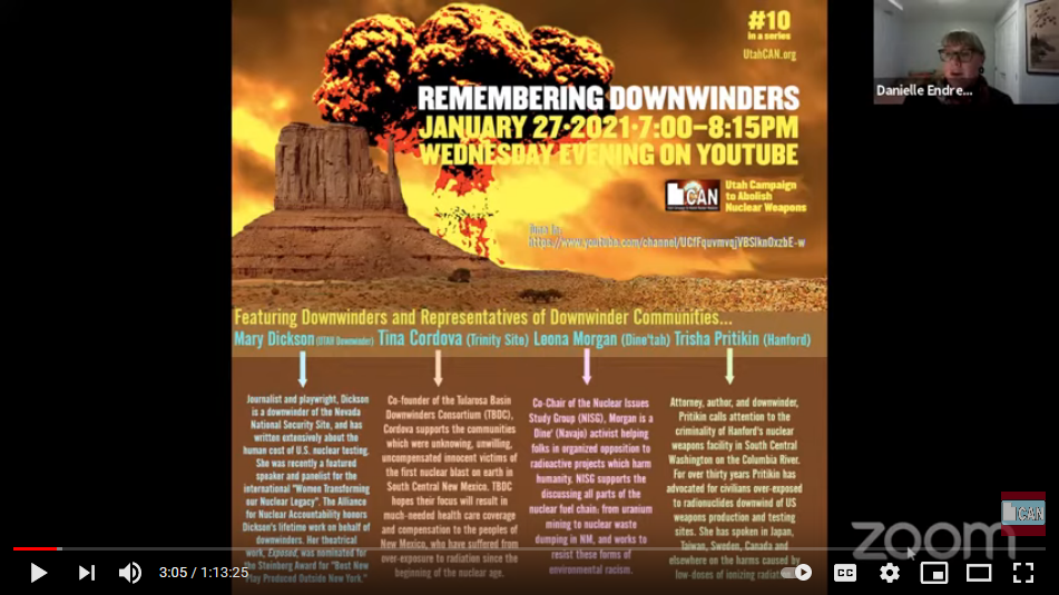 Remembering Downwinders